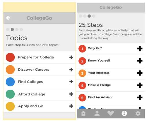 College Board CollegeGo App