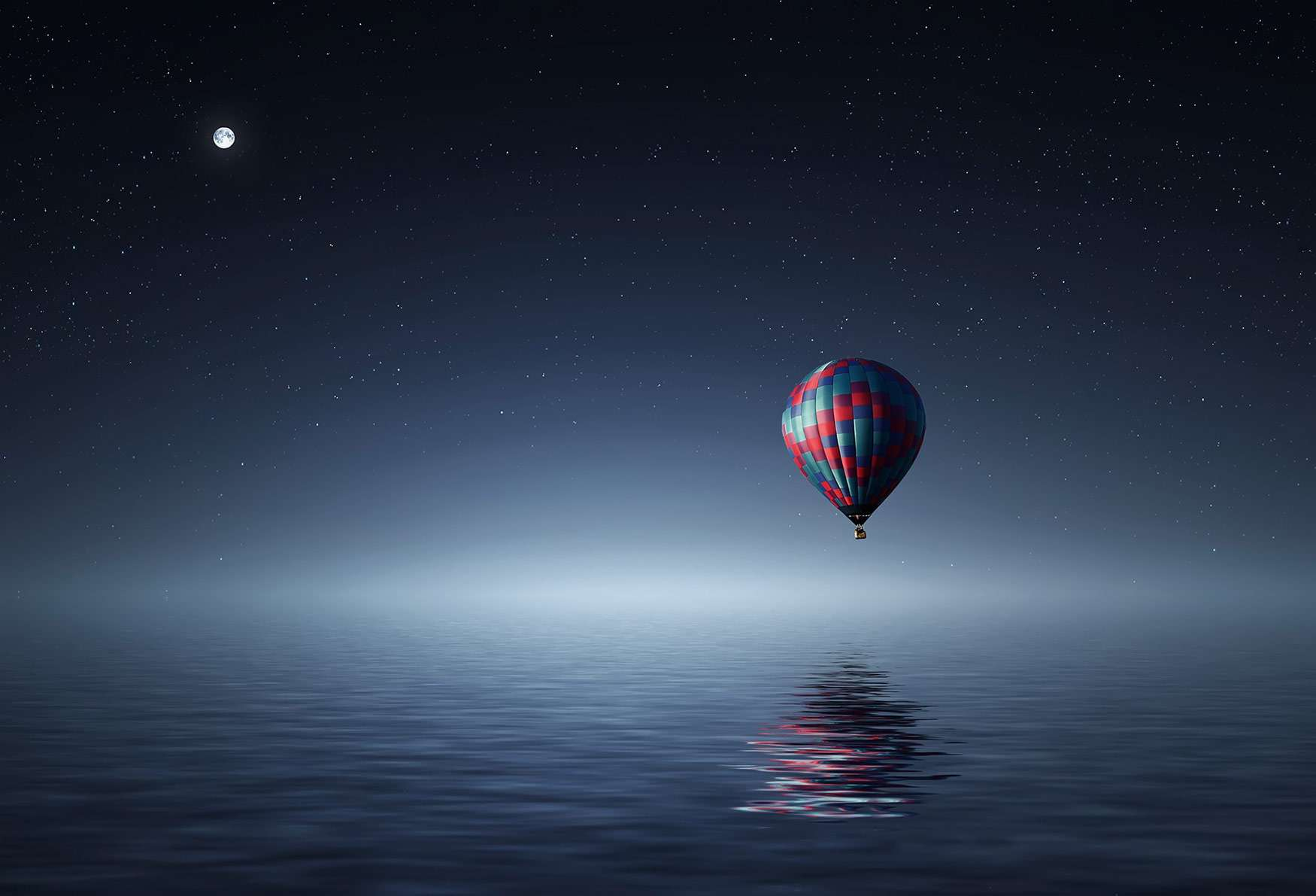 the real role of the mba essay admissionado hot air balloon over the ocean